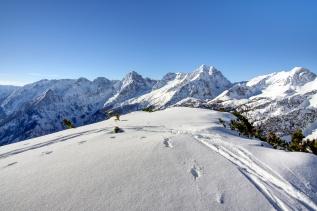 Gipfelpanorama vom Vorgipfel.
